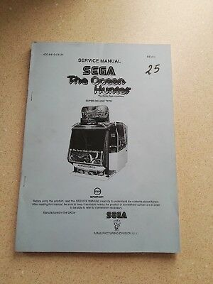 SEGA The Ocean Hunter Original Service Manual