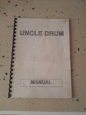 Uncle Drum Original  MAnual