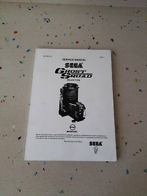 SEGA Ghost Squad Original Service Manual