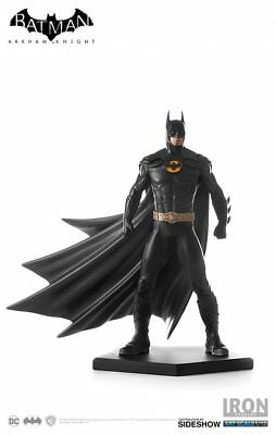 Batman Michael Keaton 1989 Dlc Statues Iron Studios Arkham Knight Art Scale 1:10