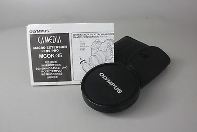 Olympus Camedia MCON-35 Macro Extension Lens Pro 62mm to 72mm Adapter Japan