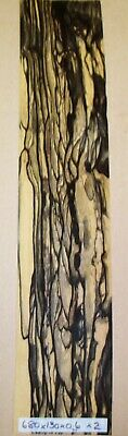 Real Wood Veneer White Ebony For Guitars,Instruments,Boxes,Marquetry,Crafts