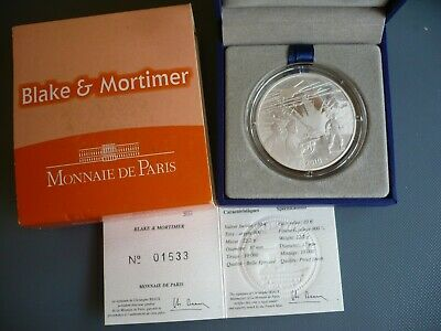 Monnaie de Paris -- 10€ Argent BE --- BLAKE & MORTIMER