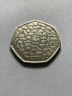 UK Coin Hunt 50p circulated Jemima Puddleduck, 2011 Olympics,WWF, Beatrix Potter