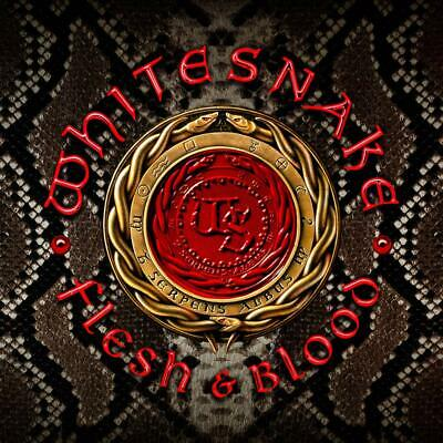 NEW WHITE SNAKE FLESH & BLOOD Japanese Edition Limited Bonus Track CD + DVD F/S