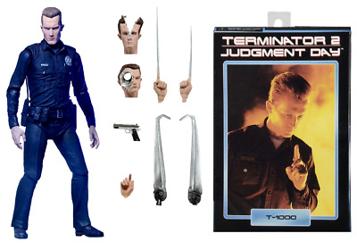 Action figure Terminator 2 Judgement Day Ultimate T-1000 7 1/8in by Neca