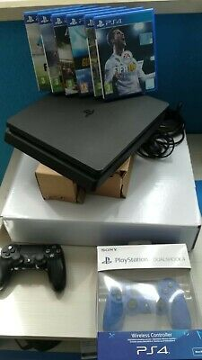 Sony Playstation 4 Slim Ps4 500gb Accessoriata