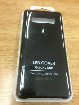 GENUINE SAMSUNG LED Cover Case EF-KG975CBEGWW for S10 Plus black