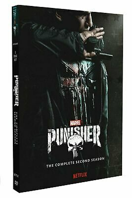 The Punisher Season 2 DVD Series Brand New & Sealed Free Post Complete Box Set