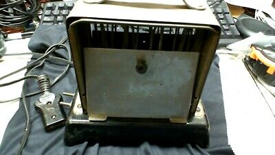 Simplex T 211 Chrome Black Porcelain Base Rare Early  Vintage Antique Toaster