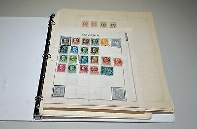 Stamp Pickers Worldwide Europe Album Collection Estate Lot Russia Poland Swiss +