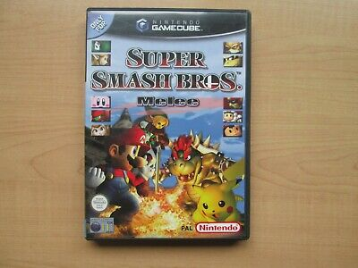 Nintendo Gamecube - Super Smash Bros. Melee - The Windmaker - Manual included