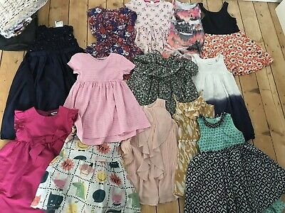 Massive Bundle Of Girls Age 3-4 Mainly NEXT Dresses 13 DRESSES RIVER ISLAND