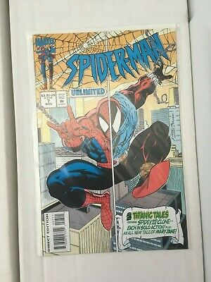 Spider-man Unlimited issue 7. Marvel Comics