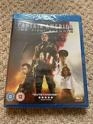 Captain America: The First Avenger Blu-ray Brand New and Sealed