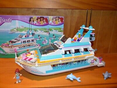 Lego Friends 41015 Le Yacht Complet Notices Comme Neuf Eur