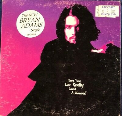 Bryan Adams - Have You Ever Really Loved A Woman? 2 Track CD Single