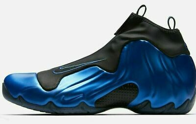 NEW Sizes 9-13 Nike Air Flightposite Foam Blue Black AO9378-500 Mens Shoes NIB