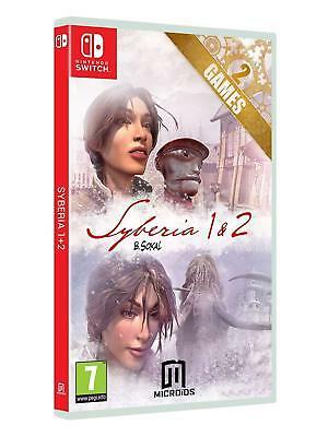 Syberia 1 & 2 (Nintendo Switch) BRAND NEW SEALED