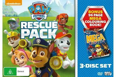 Paw Patrol: Rescue Pack - DVD Region 4 Free Shipping!