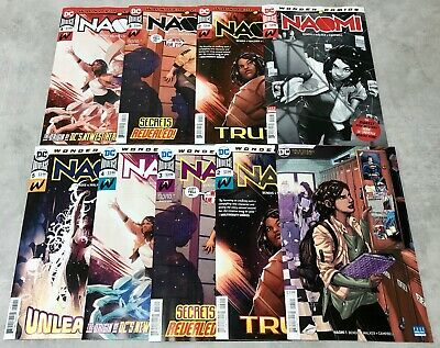 Naomi #1 2 3 4 5 1st Print & Final Print Lot, NM/NM+, 1st Appearance, Bendis, DC