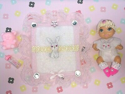 Barbie Doll Happy Family Midge Krissy Skipper Babysitters Inc Rabbit Baby Set