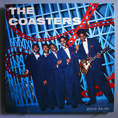THE COASTERS~SELF-TITLED 1st ALBUM~ULTRA-RARE ORIG'57 ATCO 'HARP' LABEL MONO LP