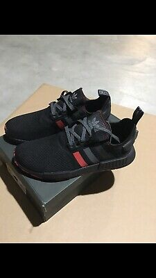 new arrive 54cf7 0dca8 ADIDAS NMD R1 Black Red Marble Japan 3m Size 12. G26514 ...