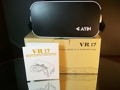 AYIN adjustable 360 VR, 3D Headset White New In Box