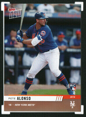 2019 Topps Now RTOD #OD-PA PETE ALONSO Rookie RC NY Mets• SSP Print Run 306
