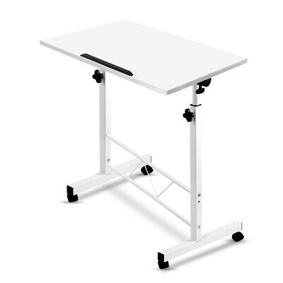 Foldable Laptop Table Height Adjustable Sit Stand Desk Study Office Computer Tab