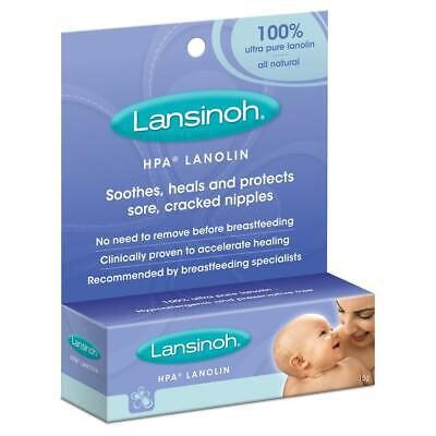 Lansinoh HPA 100% Ultra Pure Lanolin Breastfeeding Nipple Cream - 15g Free Shipp