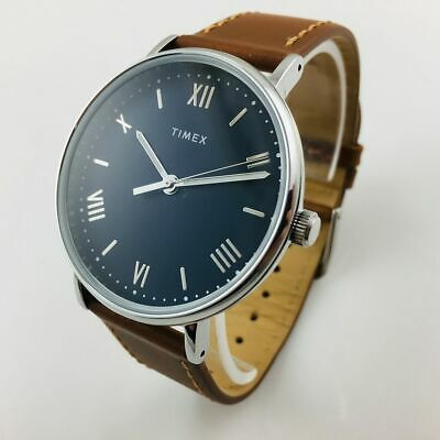 Men's Timex Southview Brown Leather Band Watch TW2R63900