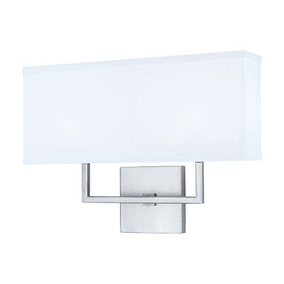Norwell Lighting 8986-BN-WS Maxwell Wall Sconce Brushed Nickel