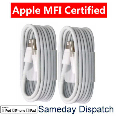 2X 2019 Hot Apple MFI Lightning USB Charger Cable For iPhone 5 6S 7 8 X XS iPad