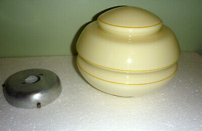 Vintage Art Deco BeeHive Light Shade