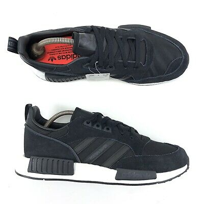 sports shoes cd5a2 c08c1 NEW ADIDAS ORIGINALS Boston Super X R1 Boost NMD Shoes Never Made Black US  10.5