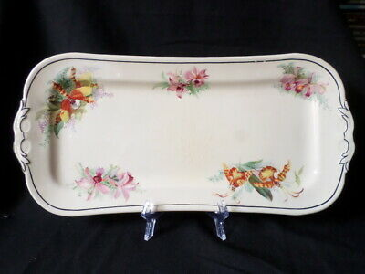 Royal Doulton. Orchids. Sandwich or Cake Plate. (33cm). D5215. Made In England.
