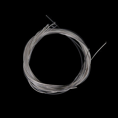 6pcs Guitar Strings Nylon Silver Plating Set Super Light for Acoustic Guitar PTE
