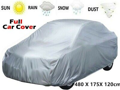 Large Size Full Car Cover Universal Rain Dust UV Waterproof Protection Covers UK