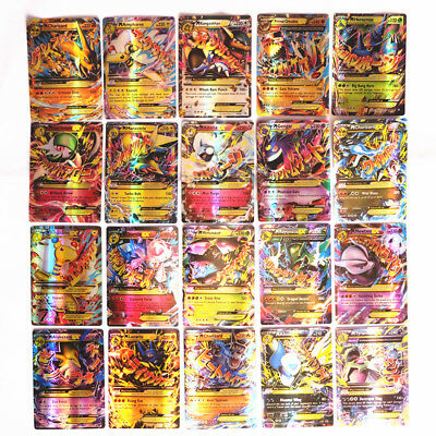 Hot Pokemon TCG 20 MEGA CARDS  LOT RARE HOLO GUARANTEED Flash Trading Game Cards