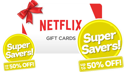 ✔️$50 Netflix Gift Card *50% DISCOUNT*✔️FAST DELIVERY✔️
