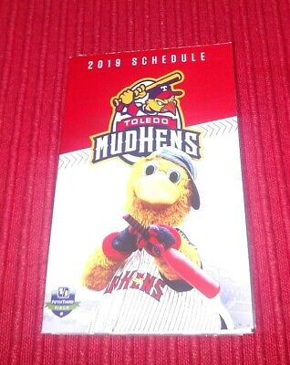 Mudhens Schedule 2020 2019 TOLEDO MUD Hens Game Day Program    2020 Mud Hens Schedule