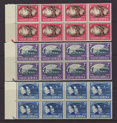 1946 South Africa Victory Set In Blocks Of 8 Muh