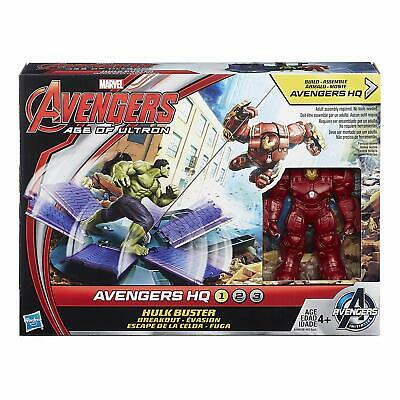 Marvel Avengers Age of Ultron Hulk Buster Breakout Action Figure Set. Hasbro NEW
