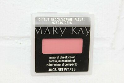 NOS Mary Kay Mineral Cheek Color CITRUS BLOOM .18oz Discontinued! New!