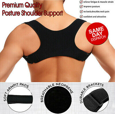 Posture Clavicle Support Corrector Back Straight Shoulders Brace Strap Corrector