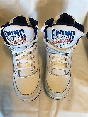 online store 6a4f8 8ef27 Patrick Ewing Athletics 33 Hi White Royal Orange OG PE Sz 8 Shoes 1EW90014