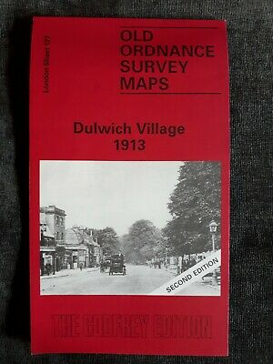 Old Ordnance Survey Map - Dulwich Village 1913 - Alan Godfrey Map