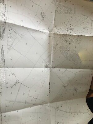 1911 Ordnance Survey Map Plan Sheriff Hutton Park Moated Site History FRAMEABLE